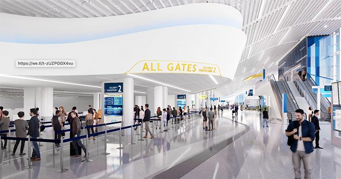 Charlotte Douglas International Airport renovation