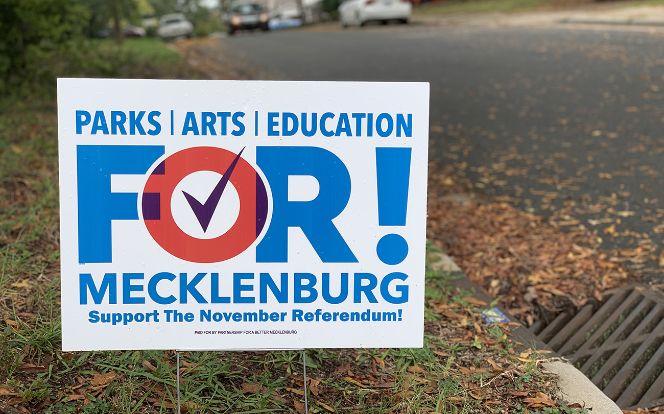 Not black and white, or Democrat vs. Republican: Why the tax hike Mecklenburg County voters are considering is so divisive