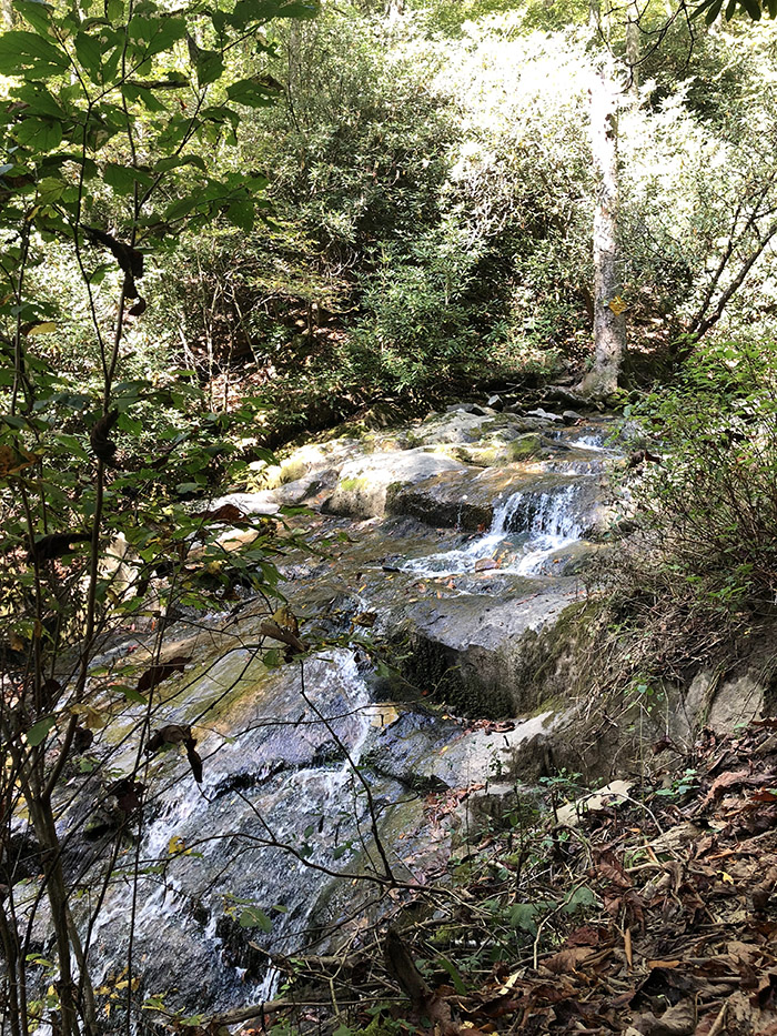 Glen Burney Trail waterfall hike