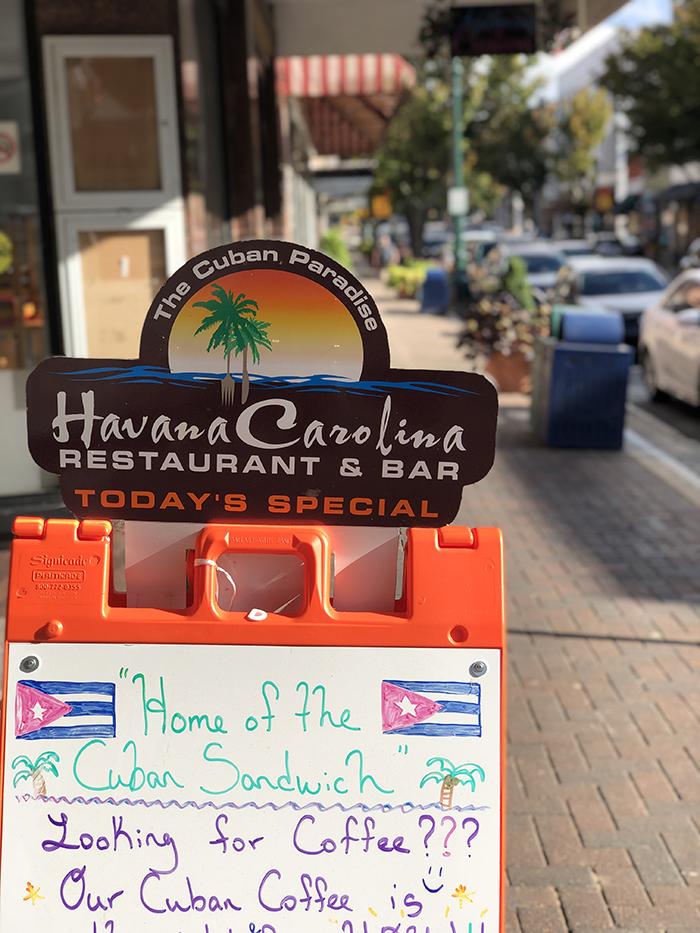 Havana Carolina Restaurant October 2019