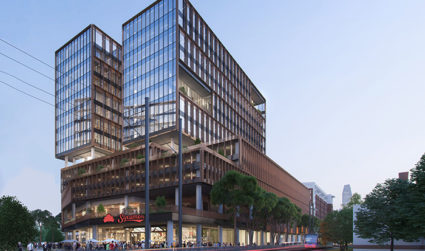 The 16-story South End tower that'll house Sycamore Brewing has a new name: The Line
