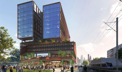 Sycamore Brewing will move into a 16-story tower next door to its current property in South End