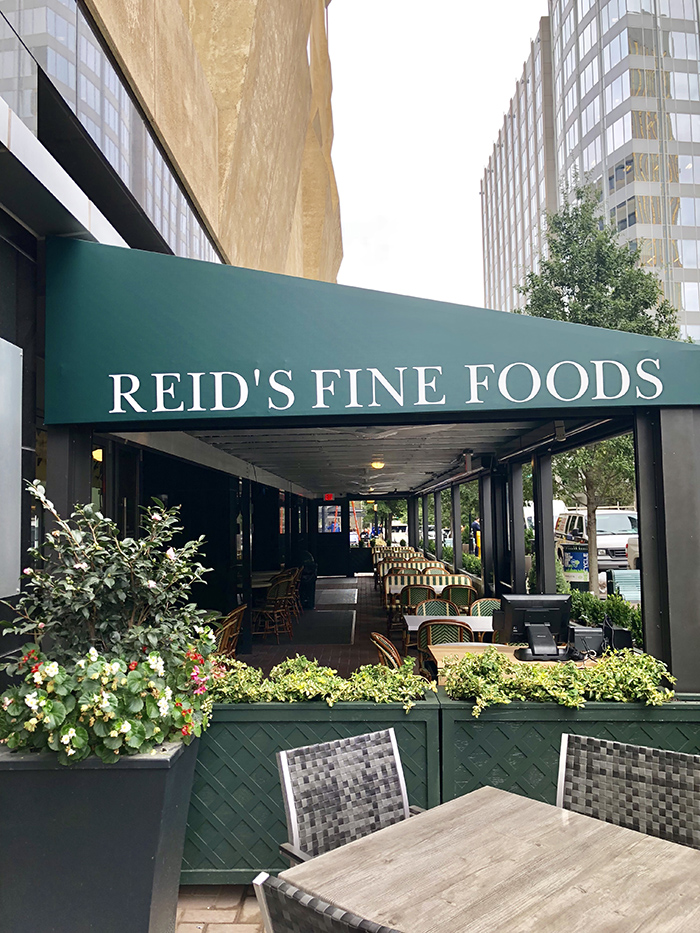 Reid's Fine Foods awning