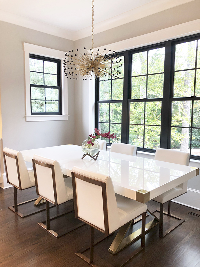 Style Hostess Home Tour breakfast room