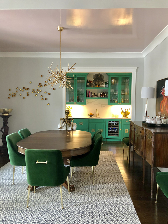 Style Hostess Home Tour dining room