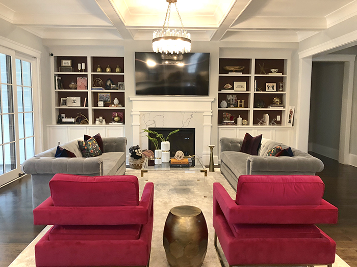 Style Hostess Home Tour living room