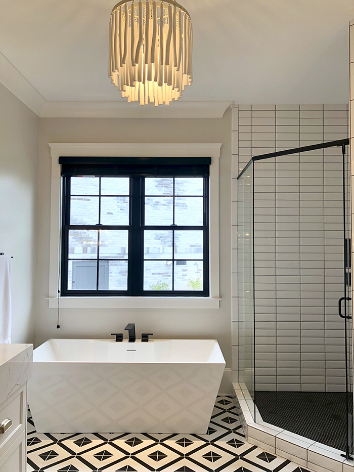 Style Hostess Home Tour master bathroom