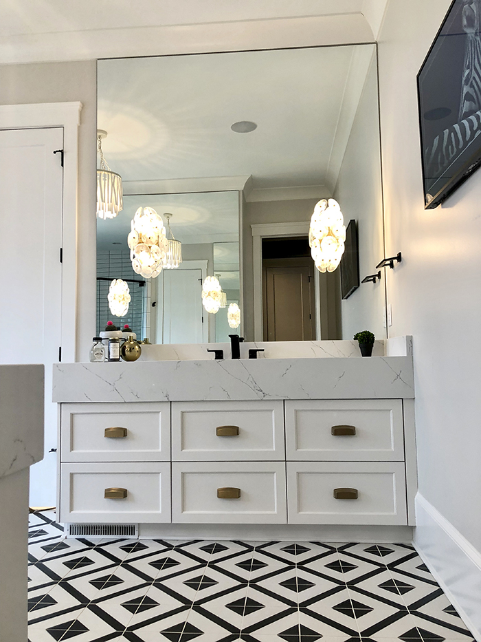 Style Hostess Home Tour vanity