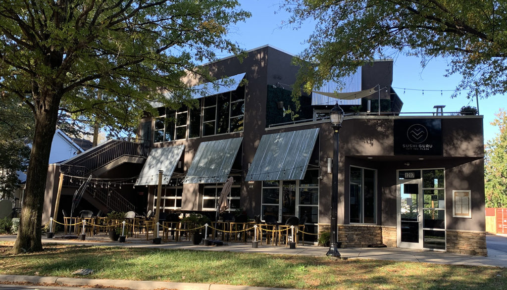 Sushi Guru closes its doors after less than two years in Plaza Midwood
