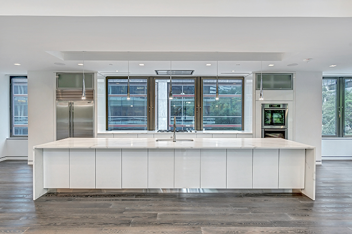 The Trust uptown's most expensive condo kitchen