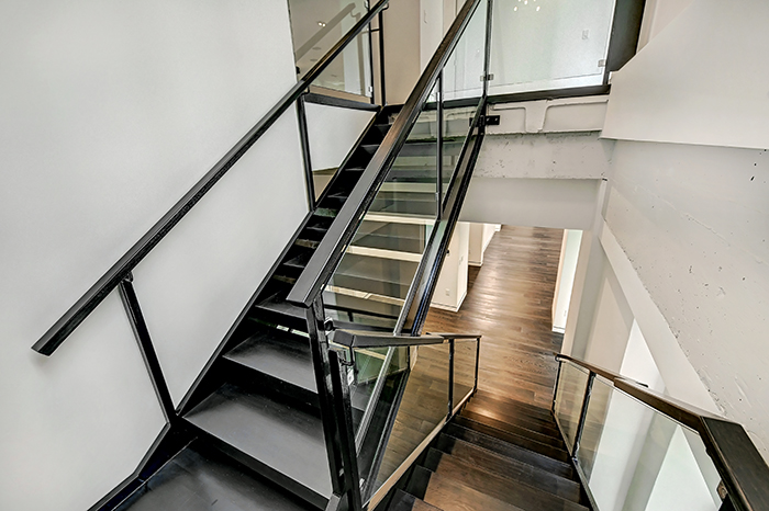 The Trust uptown's most expensive condo staircase