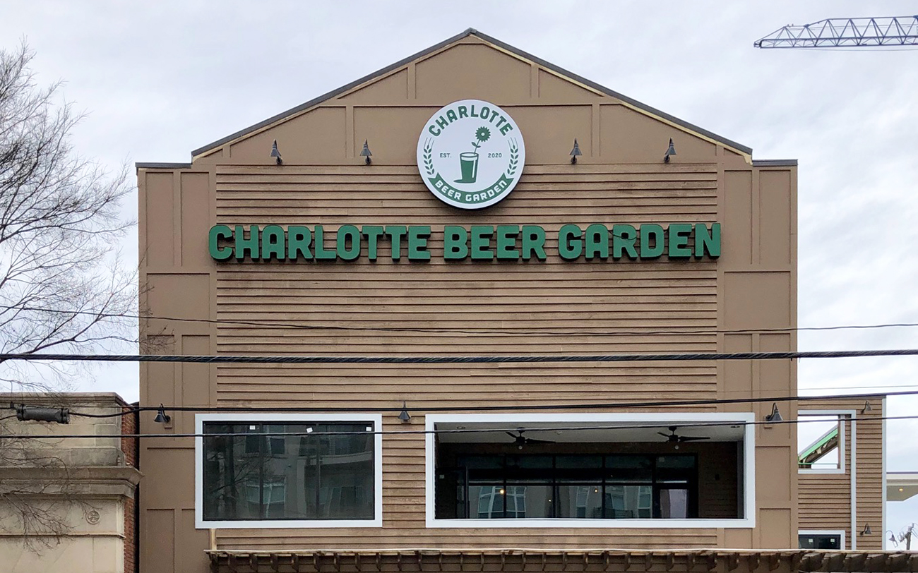 Three-story Charlotte Beer Garden with 375+ taps and rooftop bar opening soon in South End