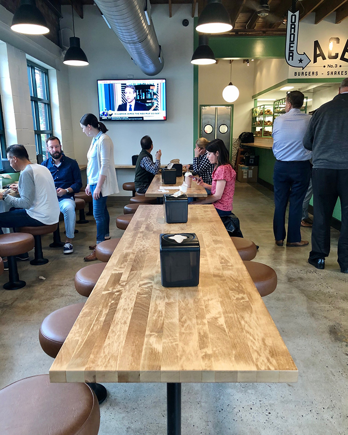 seating at ace no 3 in charlotte
