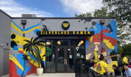 """LA-based Silverlake Ramen opens this week in South End. Try its spicy ramen called """"The Blaze"""""""