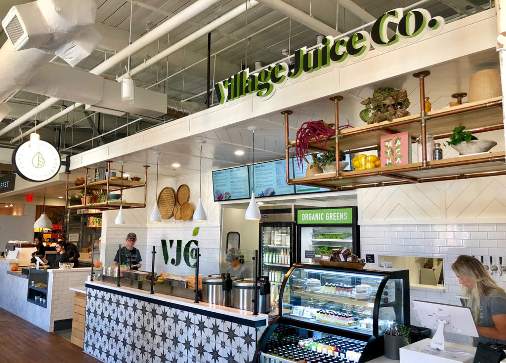 Village Juice Co. is now open inside Optimist Hall. Its menu includes toasts, smoothies, sandwiches, salads and bowls