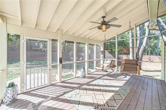 3518 Card Street porch