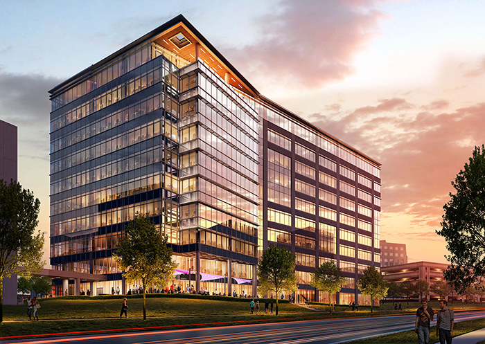Rendering of new Ballantyne tower