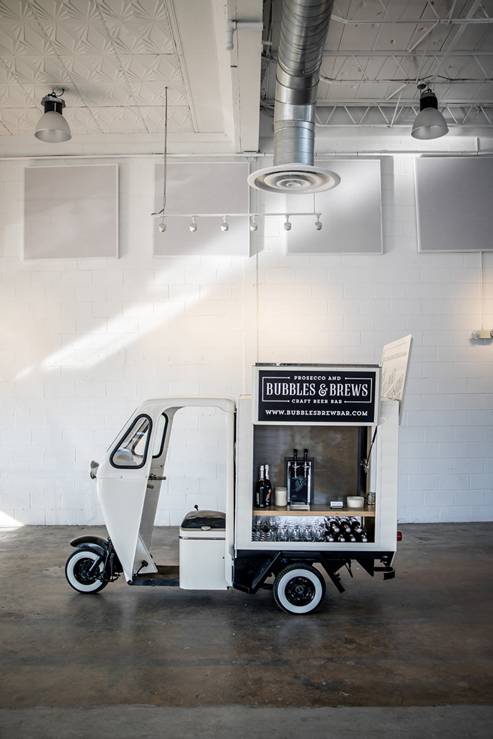 Bubble and Brews mobile bar