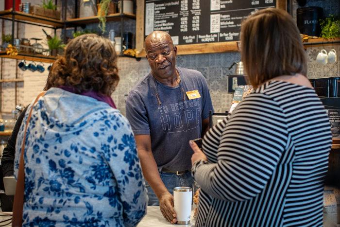 Community Matters Cafe Tony Barnett