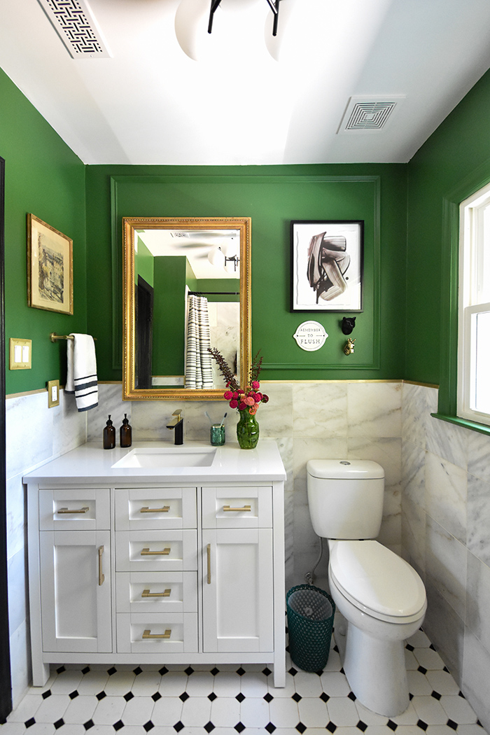 Mint Hill colonial remodel bathroom