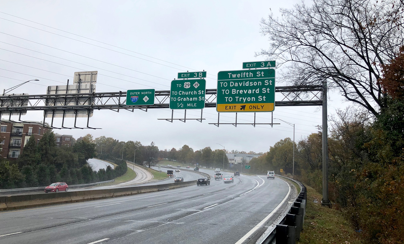 Interstate 277's Frogger-like exit 3A into NoDa may see changes — but it'll be years