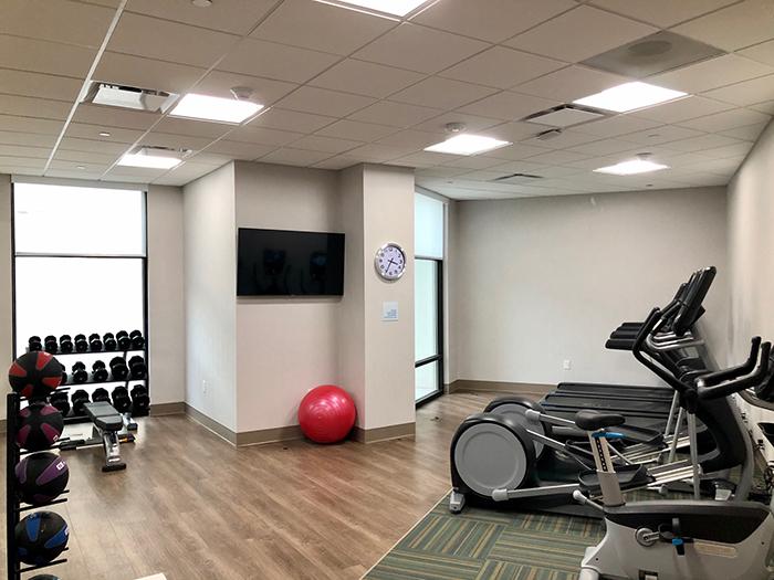 fitness center holiday inn charlotte