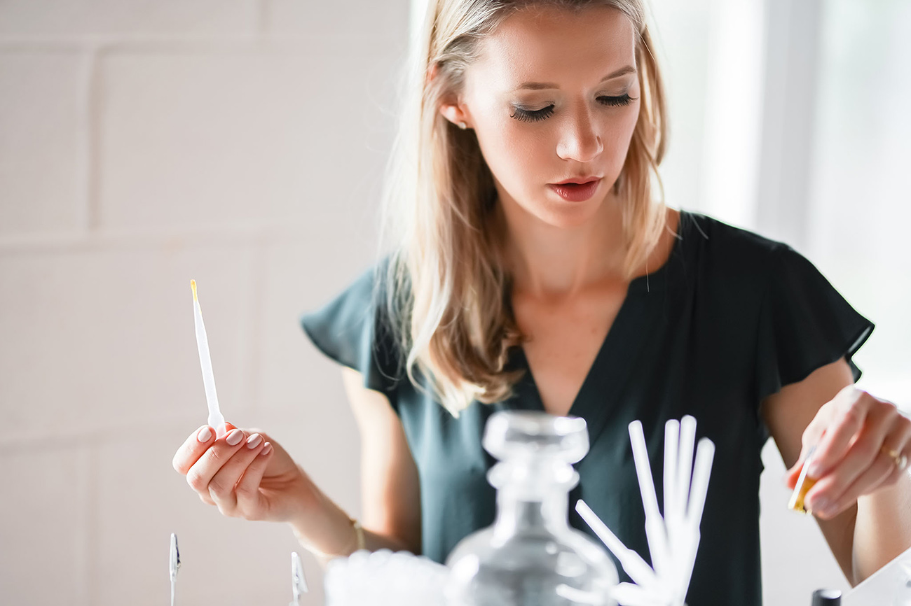 """With an experience similar to Candle Bar, entrepreneur Katrina Sellers offers """"design-your-own perfume"""" starting at $34"""