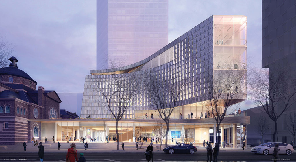 'The part of progress that has a downside': What two years of library construction will mean for Charlotte