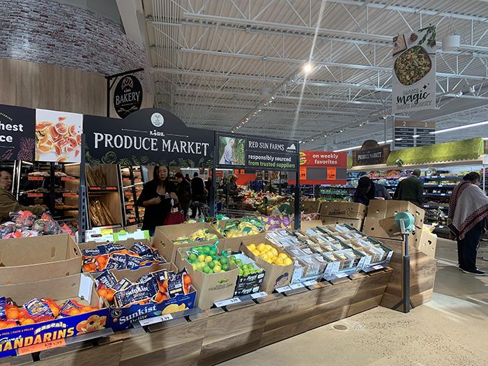 Lidl grocery store Monroe Road