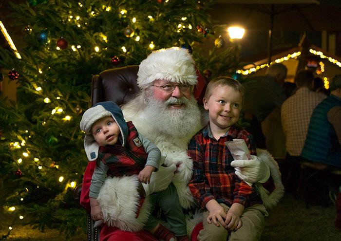 OMB Christmas Market santa