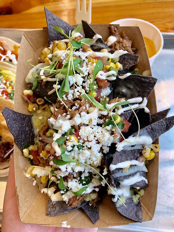Velvet Taco nachos