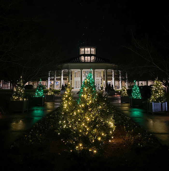location daniel stowe christmas lights in charlotte