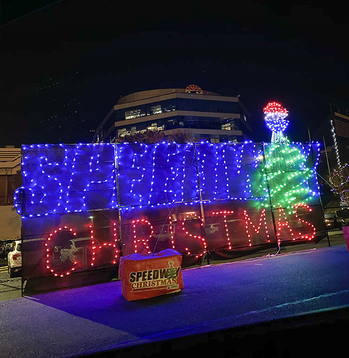 location of speedway christmas at charlotte motor speedway