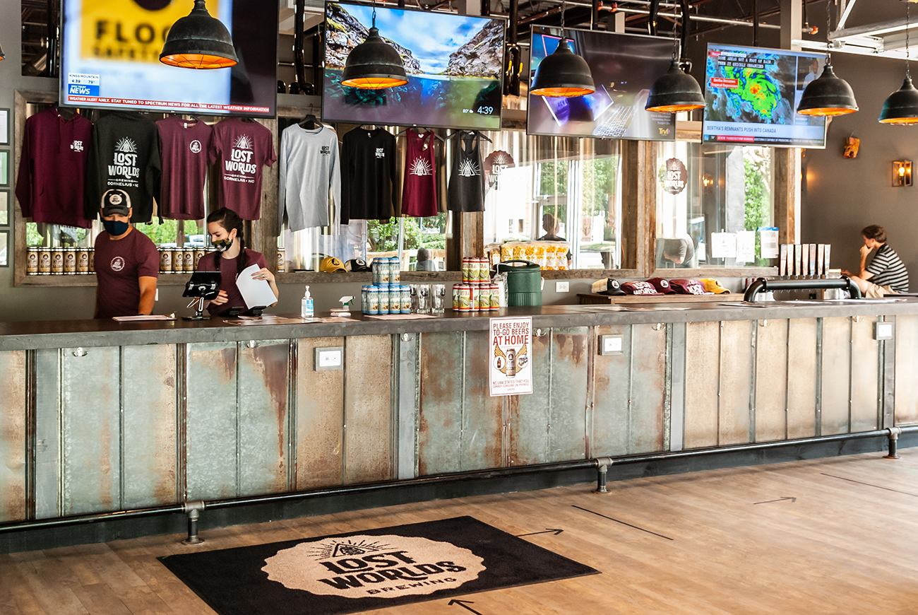 Archaeology-inspired Lost Worlds Brewing now open in Lake Norman area
