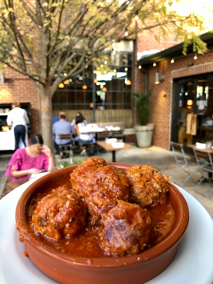 meatballs from barcelona wine bar charlotte