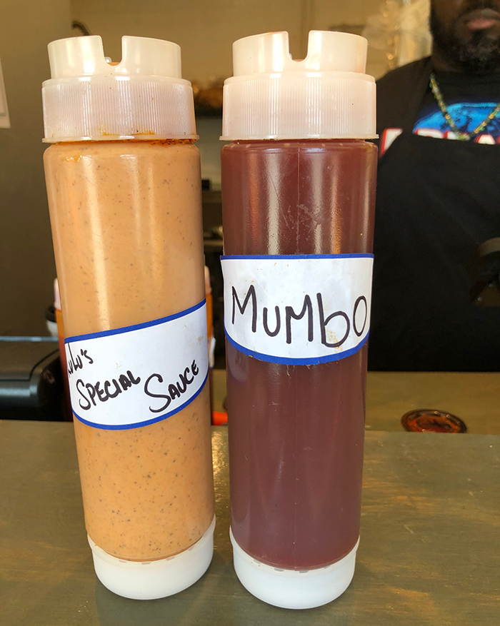 Sauces at Lulu's