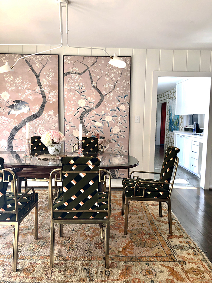 Charlotte Lucas Home Tour dining room