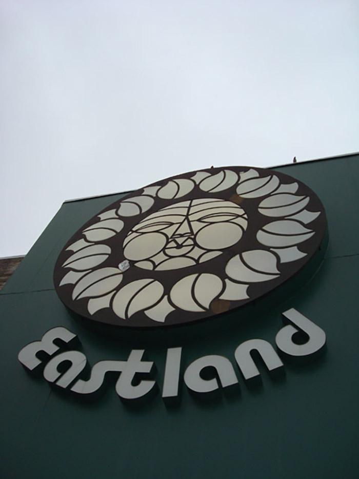 Eastland Mall signage