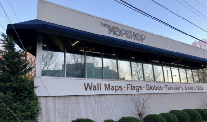 The Map Shop will move from its prominent location on Morehead to a larger space in South End