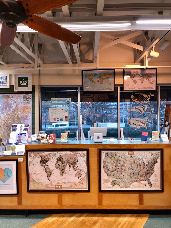 The Map Shop on Morehead