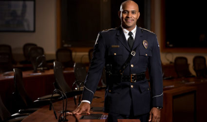 Charlotte's outgoing police chief, unfiltered: 'When that clock stops, you need to move on.'