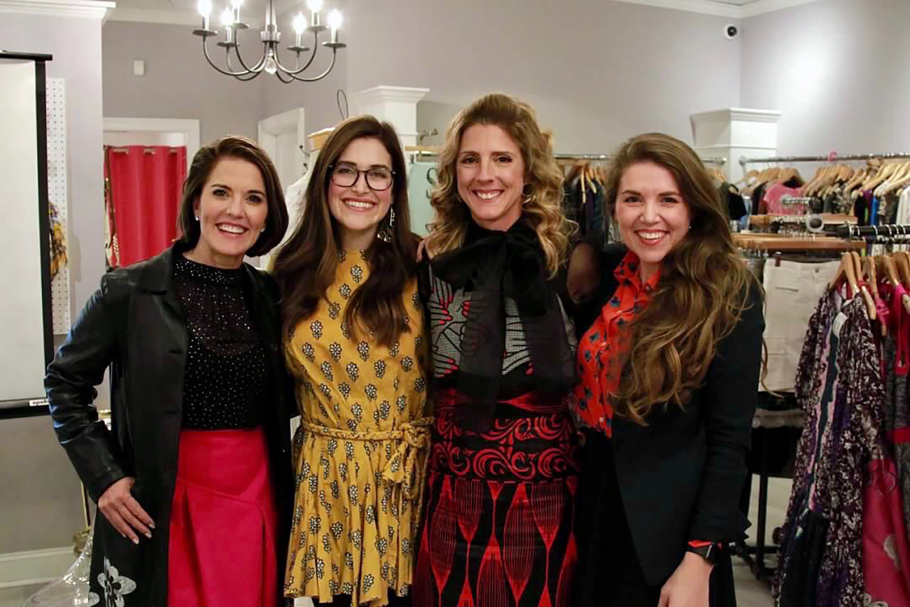 32-year-old mother of three launches women-focused speaker series