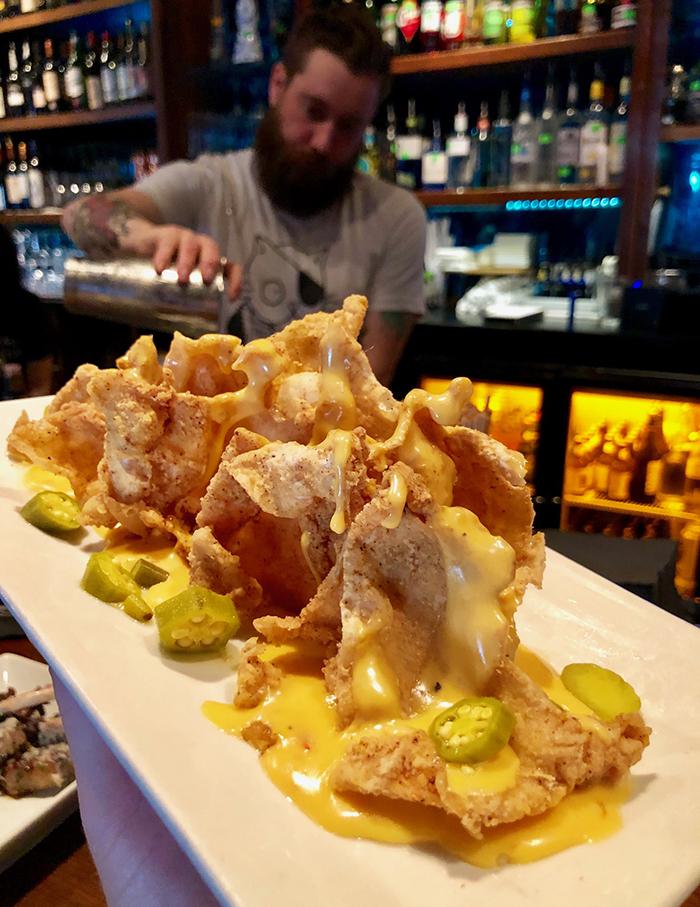 nachos at soul gastrolounge