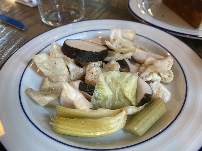 Goodyear House opens soon in NoDa. Pickled veggies