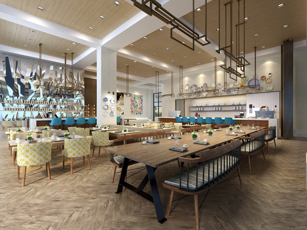 Fine & Fettle restaurant to open in the new Canopy by Hilton SouthPark in April