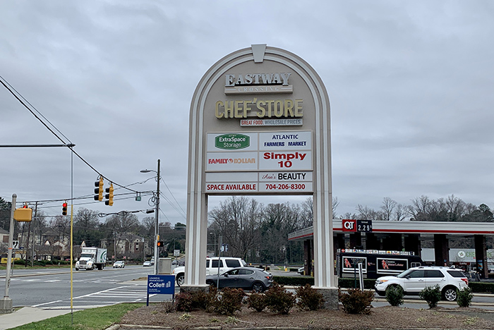 Dairy Queen's new spot in the Eastway Crossing shopping center