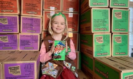 Meet the 8-year-old who has sold almost 4,000 boxes of Girl Scout cookies