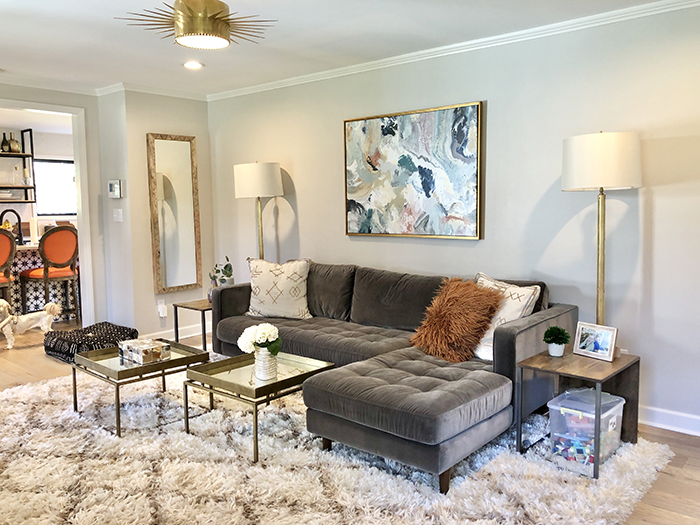 Madeline Hughes Home Tour family room 2