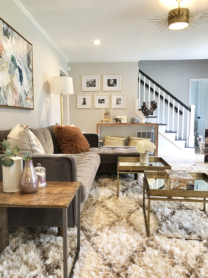 Madeline Hughes Home Tour family room