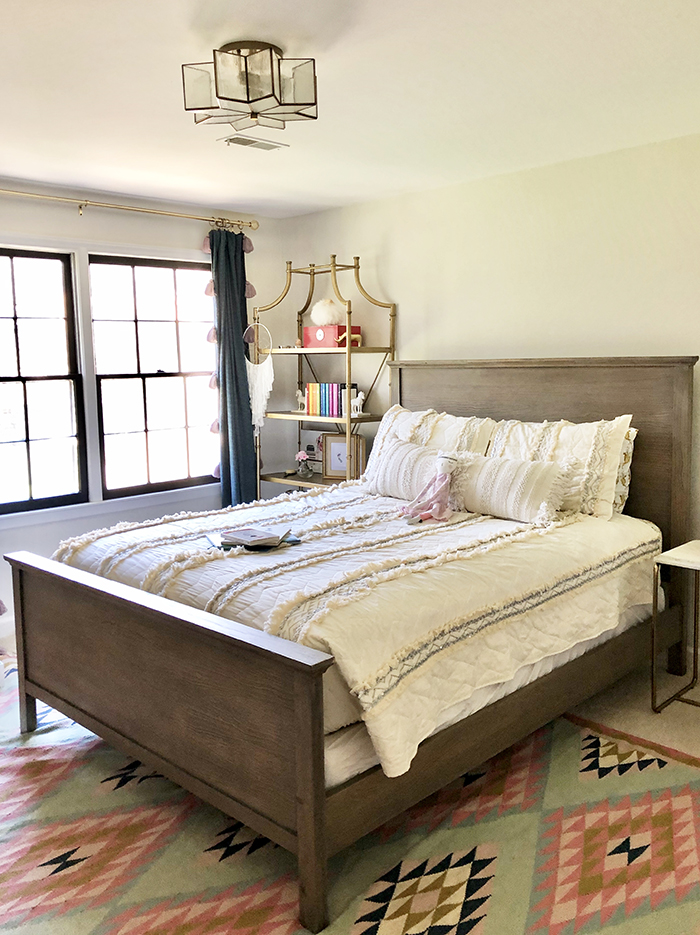 Madeline Hughes Home Tour girl's bedroom